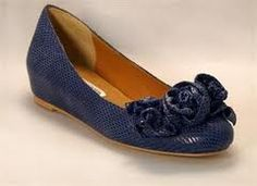 Gorgeous navy ballet flats #ballet #balletflat #shoes #fashion
