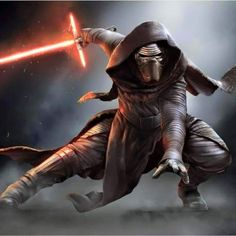 Kylo Ren. He looks like a cross between Darth Revan, Embo, Plo Koon, and Darth Vader.