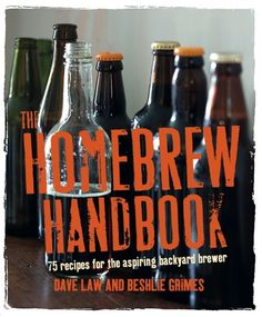If beer's his thing, this is the ideal gift to help crown Dad king of the BBQs this summer – much nicer than generic lager from the supermarket! The Homebrew Handbook - Ryland Peters and Small and CICO Books #beer #friends #diy