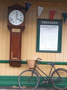 Bluebell Railway, Sussex, England, GB