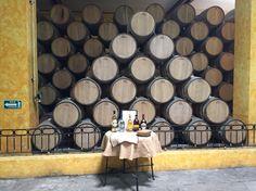 Barriles de Tequila Hacienda Jose Cuervo Tequila Tabasco