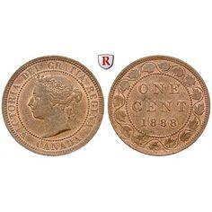 Kanada, Victoria, Cent 1897, vz+: Victoria 1837-1901. Bronze-Cent 1897. KM 7; vorzüglich +, Rdf. 40,00€ #coins