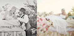 Mariages Rétro: Engagement : la princesse au petit pois, version bohème