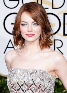 The MOST Stunning Beauty Looks from the 72nd Annual Golden Globes via @byrdiebeauty