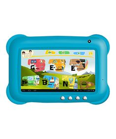 Take a look at this Blue Kid Tablet by Munchkinz on today! Best Android Tablet, Android 4, Educational Games, Operating System, Listening To Music, Sd Card, Ipad Mini, Little Ones, Kids Toys
