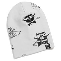 Superbear Beanie by Kukukid available now at www.blakeandleo.co.nz
