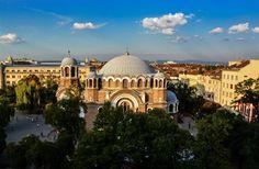 Sveti Sedmochislenitzi church, Sofia, Bulgaria Indian Architecture, Cities In Europe, Bulgarian, Present Day, Old City, Byzantine, Southeast Asia, Worship, Taj Mahal