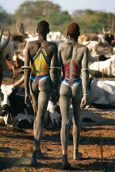 Tribu Dinka (Sudán)