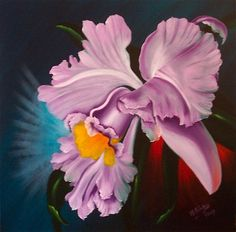 Michael Giddens   OIL   If You've Got It: Flaunt It! (Exotic Orchid)