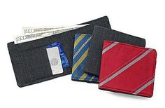 recycled-necktie-suit-wallets