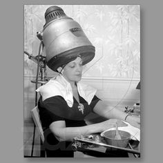 Day of Glamour Vintage Beauty Parlor New York City Famous Vintage Photographs & Photos New York, New York.