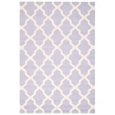 Cambridge Lavender & Ivory Tufted Wool Rug SAFCAM121C