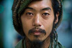 Portraits of Strangers by Danny Santos   Stranger #44 by danny st., via Flickr