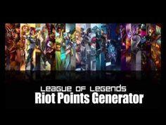 [No Survey or Password] LEAGUE OF LEGENDS - Free Riot Points Generator v...