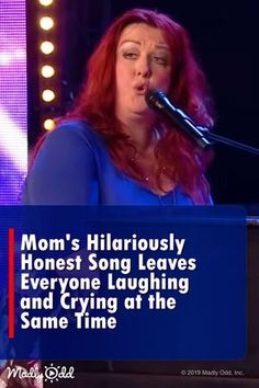 One hard-working mom has made a one of a kind song that is so honest and relatable that you can't help but laugh as soon as you hear it. Got Talent Videos, Britain's Got Talent, Talent Show, Show Dance, Dance Music, Music Songs, Music Videos, Sound Of Music, Live Music