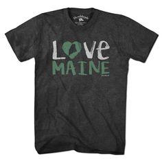 Love Maine T-Shirt