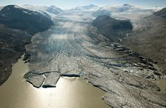 Vanishing Glaciers, Then and Now