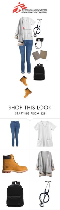 """Summer holiday supporting MSF Rwanda (2008)"" by medicicapetiens ❤ liked on Polyvore featuring Topshop, Jockey, Timberland, Vans and 3M"