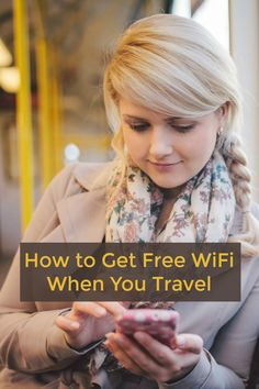 How to Get Free WiFi When You Travel | Stay connected on the go: Where to find free and cheap WiFi hotspots when you go on vacation or travel for business | Includes tips for finding free WiFi in San Jose & Silicon Valley, California.