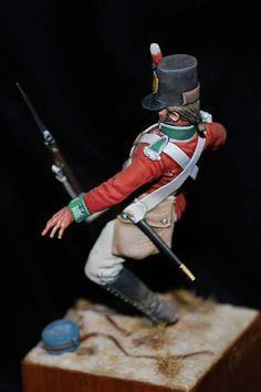 of Foot - 1800 - Virtual Museum of Historical Miniatures Crime, Empire, British Uniforms, Military Figures, Pin Pics, Military Modelling, Virtual Museum, Baseball, Arrow Keys