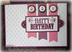This is the card I made for Craft Project Central Sketch challenge 20