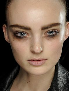 How-to: The smudgey under-eye shadow at Louis Vuitton F/W '12: http://beautyeditor.ca/2012/10/05/how-to-the-smudgey-under-eye-shadow-at-louis-vuitton-fw-12/