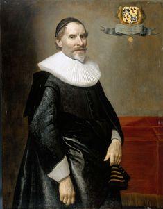 Michiel Jansz. van Mierevelt, Portret van François van Aerssen (1572-1641), heer van Sommelsdijk, De Plaat en Spijk,  1636 - Rijksmuseum Amsterdam