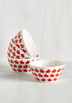 Hop Over to my Table Bowl Set