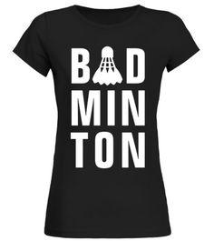 0fdd4a1ec0 Badmin minton Badminton Racquets Ball Net player team sport shirt - Round  neck T-Shirt