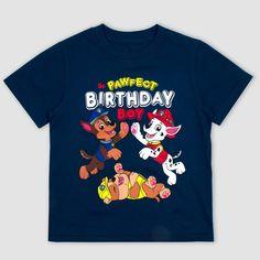 Toddler Boys' Nickelodeon Paw Patrol Short Sleeve T-Shirt - Navy 4T, Blue