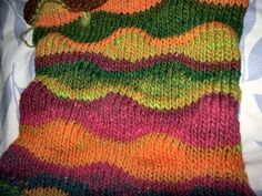 Am reposting this as Alison Lee of the MK Guild pointed out a typo - 5 plus 2 is 7, not 9. And I call myself an engineer! Sigh! Yarn:  Noro ...
