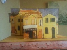 Van Gogh - The Yellow House Paper Model - Assembled by Bruno Ferrary        Bruno Ferrary is a French modeler and he built the Van Gogh`s Yellow House Paper Model. I always say that is a pleasure see one of my models built by a friend modeler. Many thanks, Bruno, for this nice assembly and for share it with us. - If you want to build your own Van Gogh`s Yellow House, you will find the link at the end of this post.