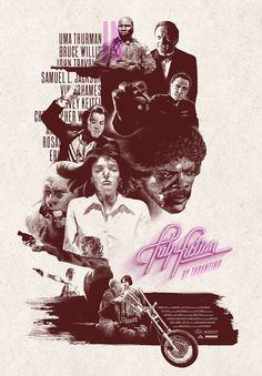 Pulp Fiction - movie poster - Romain Livio Bernardo