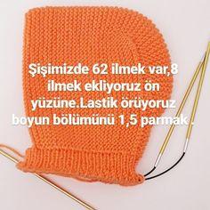Görüntünün olası içeriği: şapka Baby Knitting Patterns, Knitting For Kids, Knitting Socks, Free Knitting, Knitting Projects, Knitted Hats, Crochet Patterns, Hand Embroidery Videos, Ribbon Embroidery