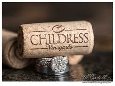 Childress vineyards wedding bling! Love the ring shot! (www.mccardellphotography.com)