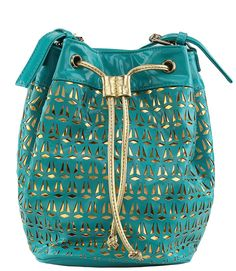 Gold Riot Bucket Bag In Seafoam  Use Code: LEA25 at checkout to get 25% off your order from www.shopbellaeve.com <3  #shopbellaeve #clutch #handbag #accessorize #accessories #shopping #discount #discountcode