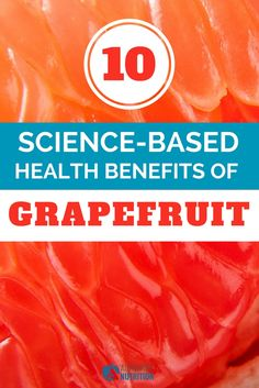 Grapefruit is a tropical fruit that's rich in vitamins, minerals and antioxidants. Here are the top 10 health benefits of grapefruit, all backed by science: https://authoritynutrition.com/10-benefits-of-grapefruit/