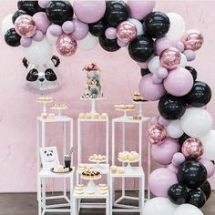 "4 Likes, 2 Comments - The Little Big Company (@littlebigcompany) on Instagram: ""I love pandas and loving this panda party by @ohferi_eventstyling with @lamannapatisserie cake and…"""