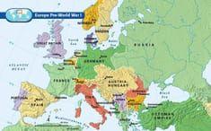 Europe Pre-World War I | World War II Genealogy | World war i, War ...