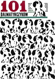 101 Dalmatians 45 Amazing Vintage Polish Posters Of Classic American Films Polish Movie Posters, Polish Films, Walt Disney, Vintage Movies, Vintage Posters, Poster S, Poster Prints, Children's Films, Foreign Movies