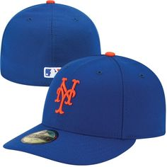 07c5f71ea1e6f Men s New York Mets New Era Royal Authentic Collection Low Profile Home  59FIFTY Fitted Hat