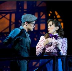 Oh, my word this picture. XDXDXD  Jack Kelly and Katherine Plumber