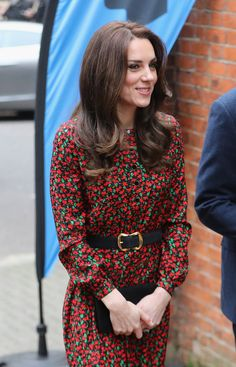 It's Not Kate Middleton's Dress That Says Christmas, but the Belt That Goes With It