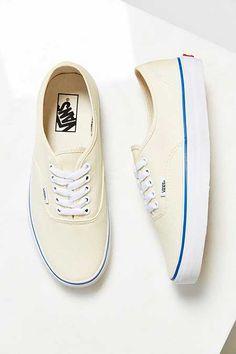 Vans Authentic Ivory Canvas Sneaker