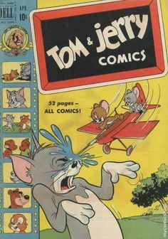 Tom and Jerry (1949 Dell-Gold Key) #81