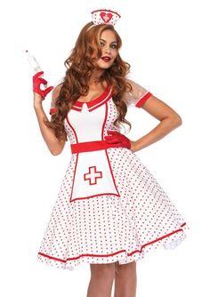 Bedside Betty Nurse Costume
