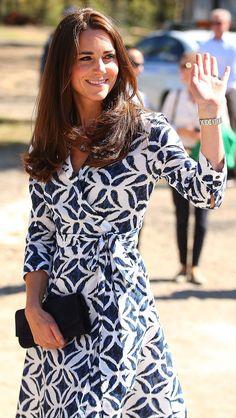 Kate Middleton , Duchess of Cambridge Dress is by Diane Von Furstenberg
