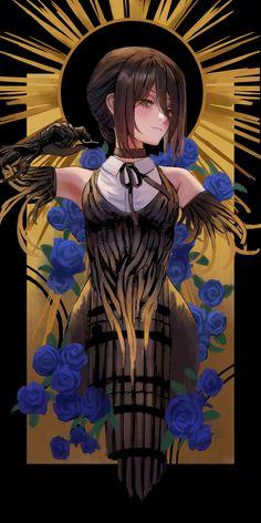 Reze OLED edit, Originally by goldcan6955: ChainsawMan Chica Anime Manga, Kawaii Anime, Anime Art Girl, Manga Art, Anime Girls, Character Art, Character Design, Man Wallpaper, Fanarts Anime