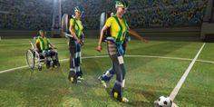 Paralyzed teen to kick World Cups first ball with mindcontrolled exoskeleton -  This year's World Cup could be host to something more exciting than a bicycle kick scoring the winning goal. Thanks to an international collaboration between universities such as