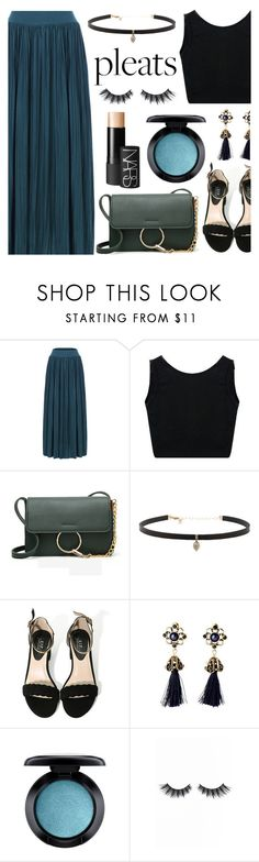 """""""Give Me Pleats, Please!"""" by dora04 ❤ liked on Polyvore featuring Carbon & Hyde, MAC Cosmetics, Violet Voss, NARS Cosmetics and pleats"""